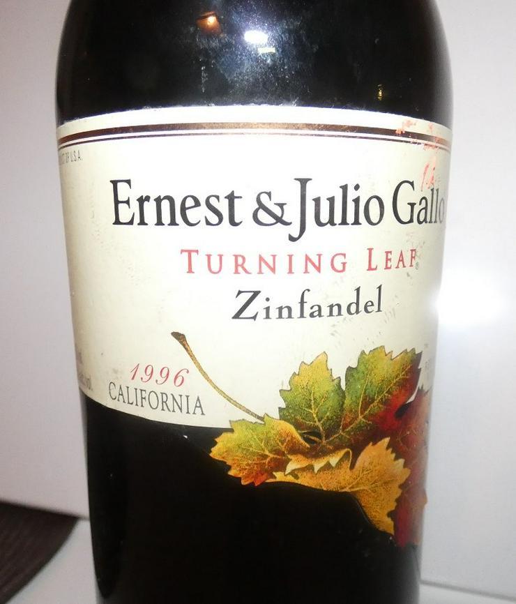 Bild 3: Ernest  & Julio Gallo Turning Leaf Merlot Rotwein Californien