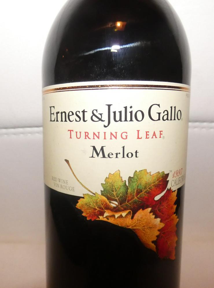 Bild 2: Ernest  & Julio Gallo Turning Leaf Merlot Rotwein Californien