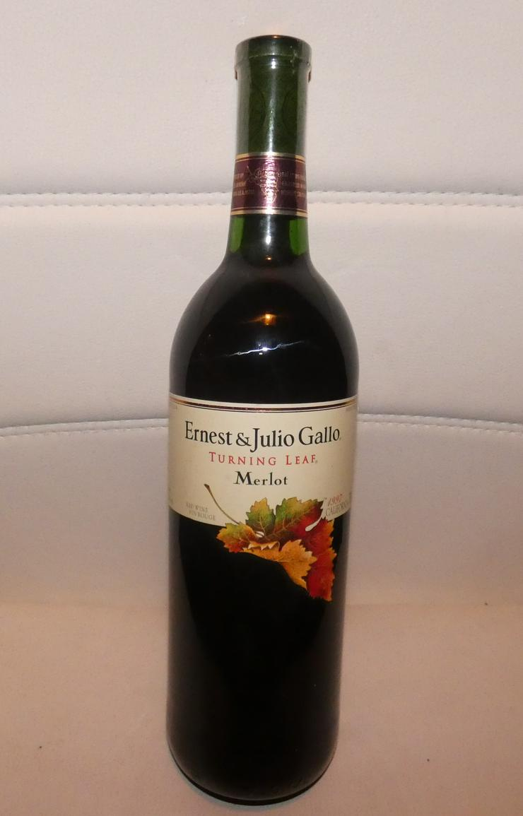 Ernest  & Julio Gallo Turning Leaf Merlot Rotwein Californien