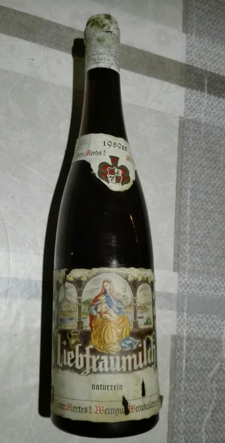 Weinflasche 1959 Liebfraumilch