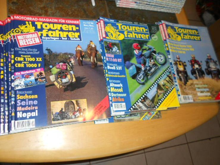 Bild 2: Tourenfahrer 1996 1997 1998 1999 2000