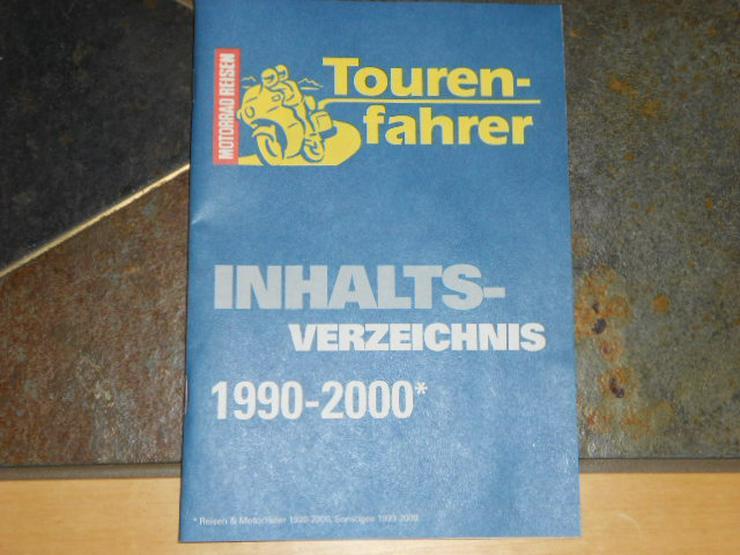 Bild 3: Tourenfahrer 1996 1997 1998 1999 2000