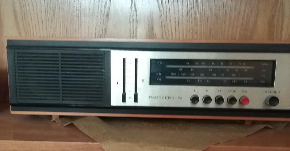 Heimempfänger Radio Radeberg-74
