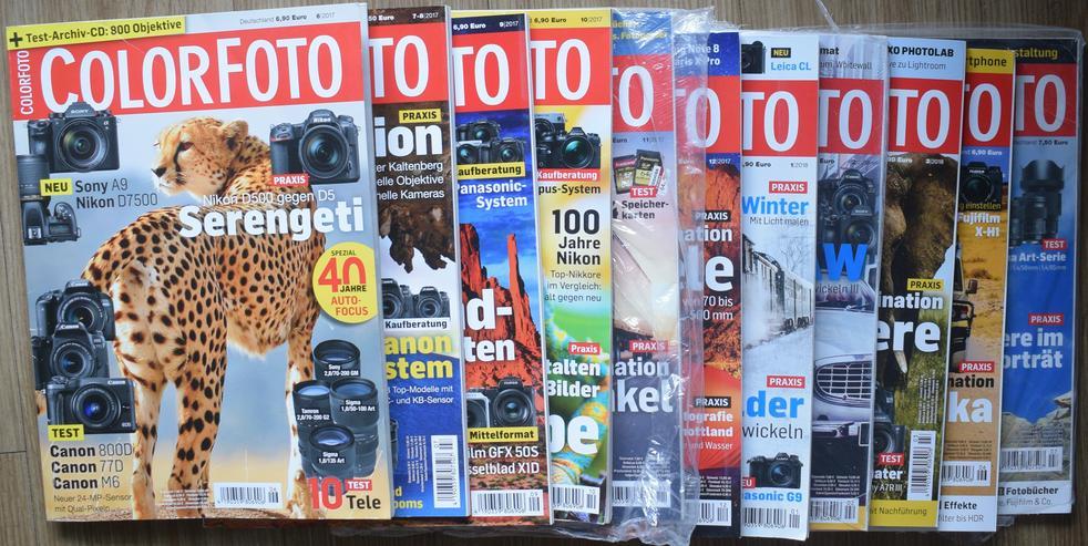 """Magazine """"Color Foto"""" abzugeben, neuwertig"""