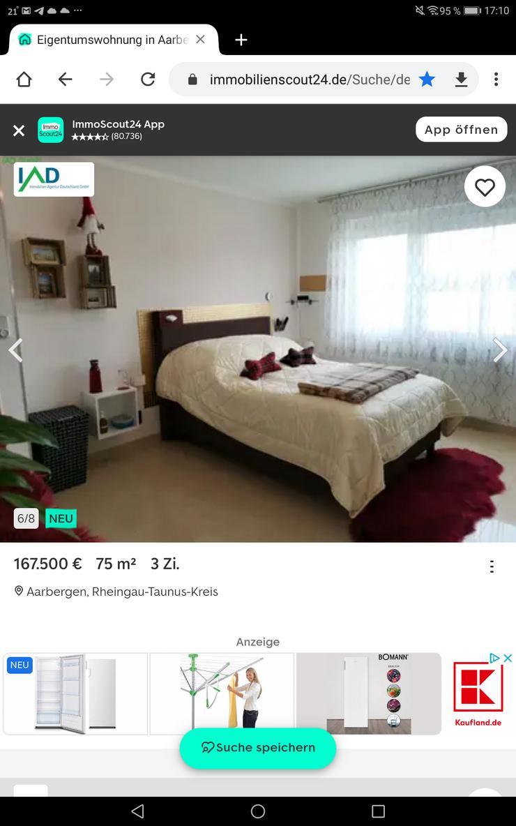 Bild 4: Wunderschöne und TOP gepflegte 3 Zimmer Wohnung mit Balkon und traumhaftem Ausblick