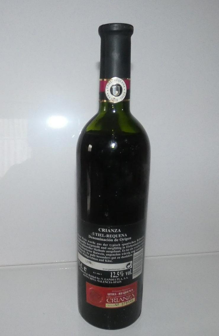 Bild 2: Crianza Utiel Requena von 1996, Wein aus Spanien