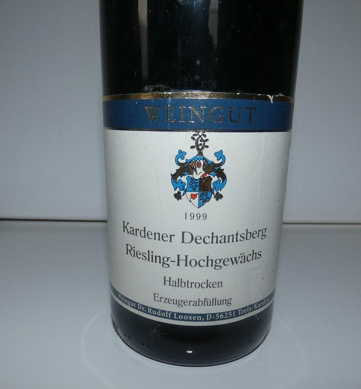 Bild 2: Weingut Dr. Rudolf Loosen, Kardener Dechantsberg 1999