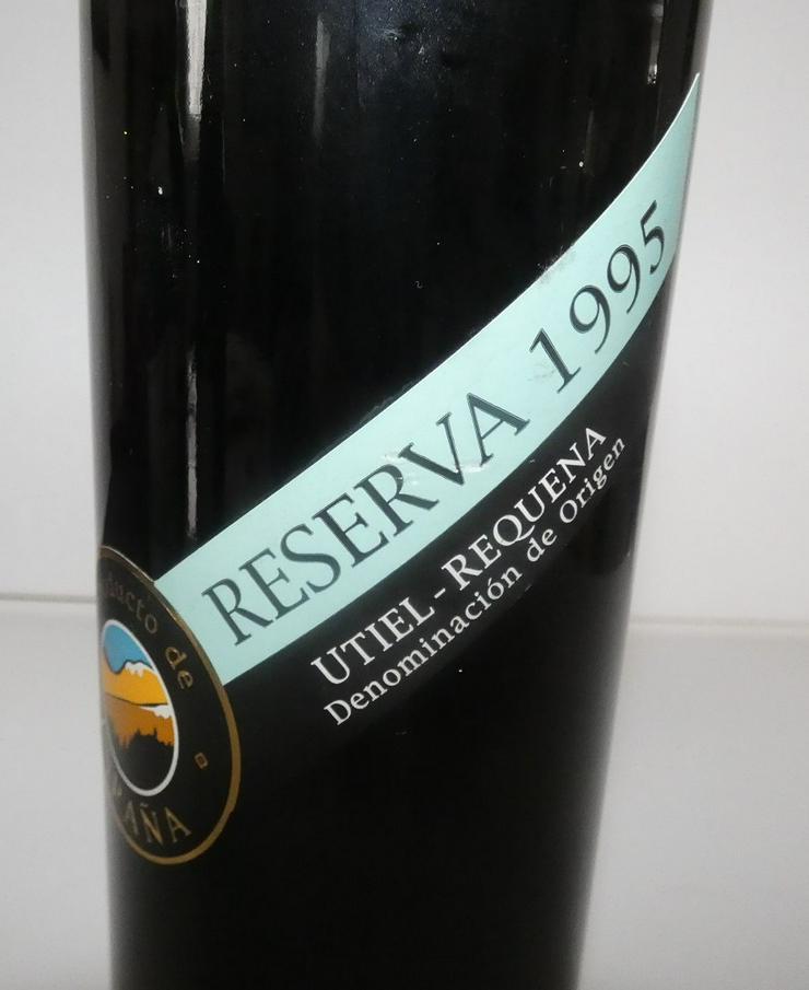 Bild 2: Reserva Utiel Requena von 1995, Wein aus Spanien
