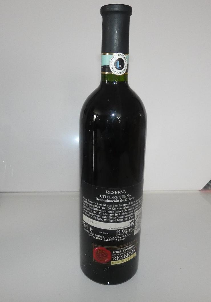 Bild 3: Reserva Utiel Requena von 1995, Wein aus Spanien