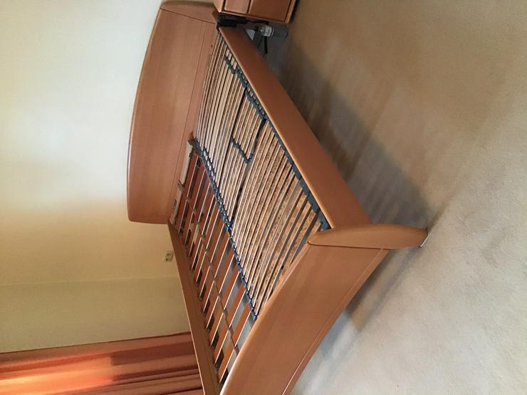 Doppelbett Ehebett 1 A-Zustand mit 2 Kommoden und Lattenrost HÜLSTA