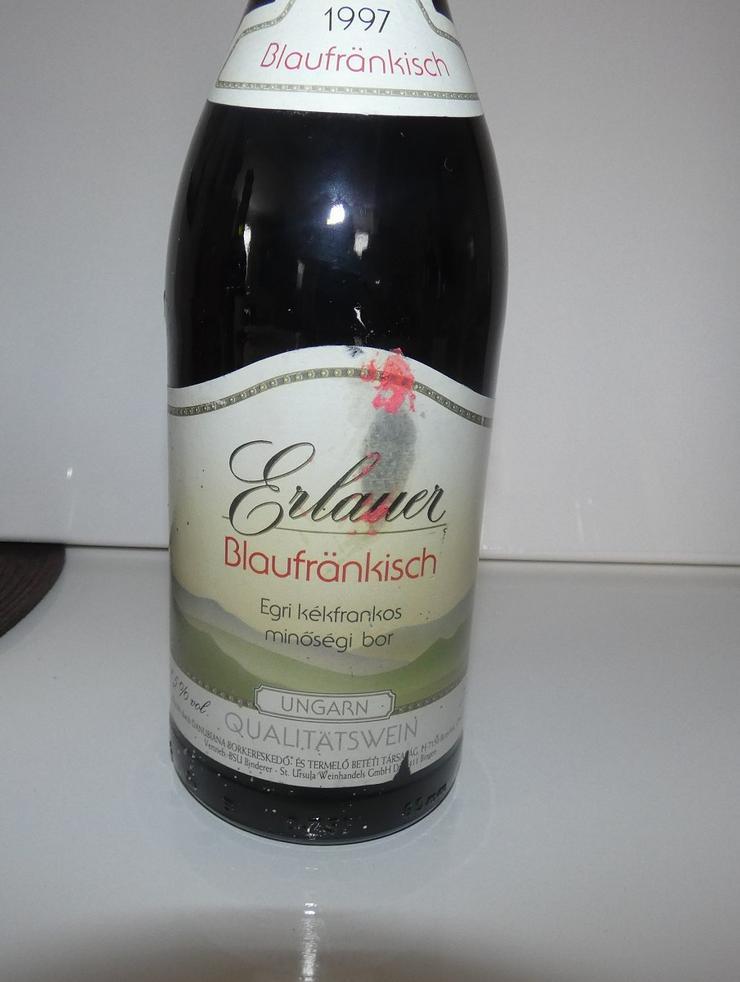 Bild 2: Erlauer Blaufränkisch1997, Qualitätswein aus Ungarn