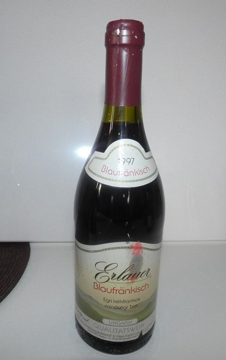 Erlauer Blaufränkisch1997, Qualitätswein aus Ungarn - Sonstige Weinsorten - Bild 1