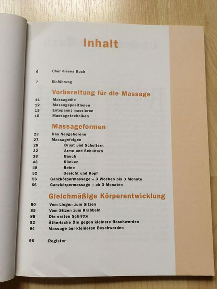 Bild 4: Buch Babymassage Peter Walker, gebraucht