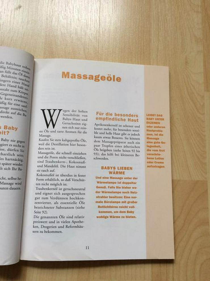 Bild 6: Buch Babymassage Peter Walker, gebraucht
