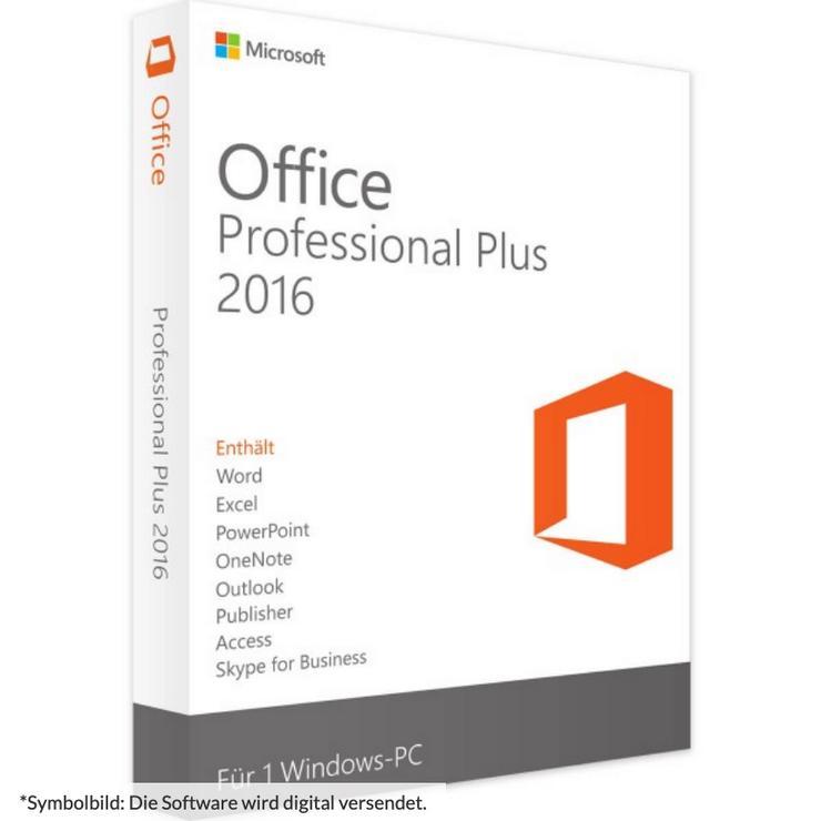 Microsoft Office 2016 Professional Plus Pro