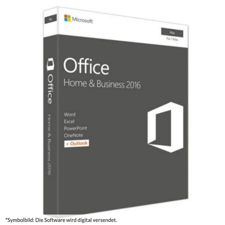 Microsoft Office 2016 Home & Business für Mac