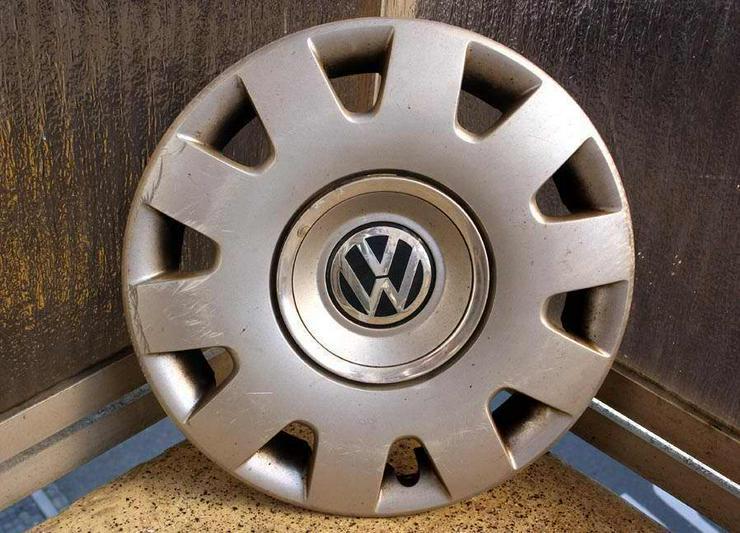 1x Radkappe 15 Zoll Original VW GOLF BORA POLO PA66M15