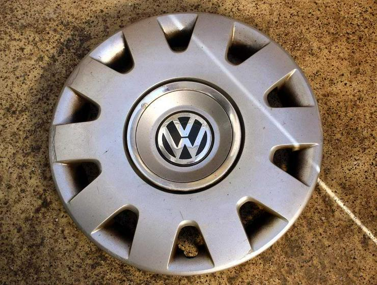 Bild 5: 1x Radkappe 15 Zoll Original VW GOLF BORA POLO PA66M15