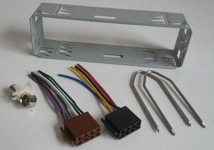 Kfz-Auto-Radio-Einbauzubehör