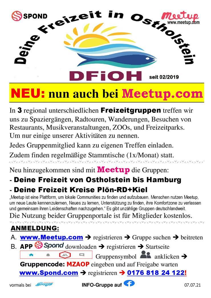 Nette neue Kontakte für Freizeitunternehmungen und Meetup