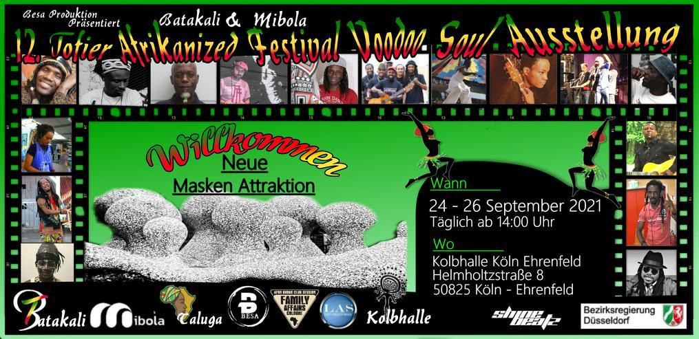 12. Tofier Afrikanized Festival Voodoo Soul Ausstellung 2021 - Freizeit Events - Bild 1