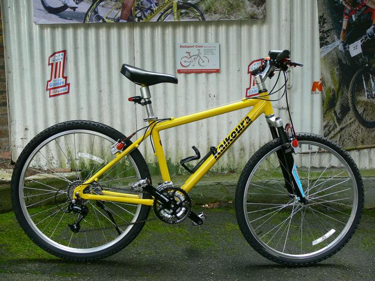 Trekking - Fahrrad von KAIKOURA , 21 Gang von SHIMANO - DEORE