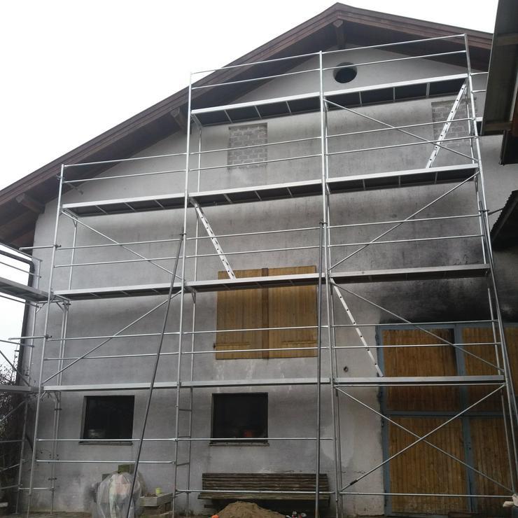 Bild 2: Vermiete alugerüst fasadengerüst