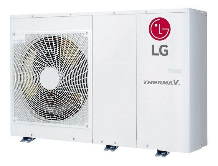 1A LG Therma V Set Monobloc Luft Wasser Wärmepumpe R32, 5 kW. prehalle