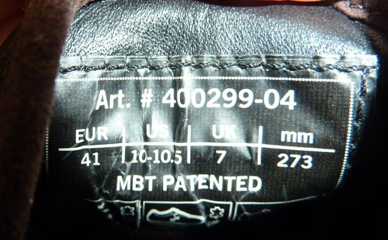 Bild 3: MBT Damen MTB Schuhe Gr.41 Art. Nr.400299-04
