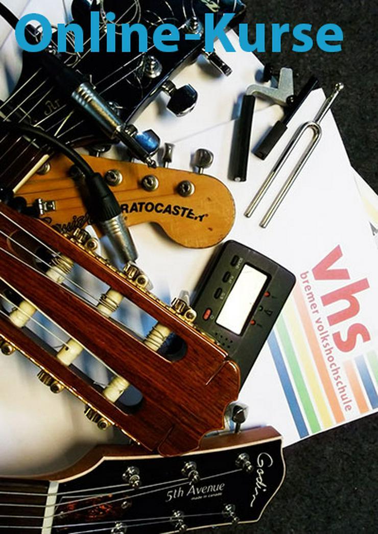 Gitarre/Ukulele - ONLINE Kurse mit Peter Apel - ab September 2021