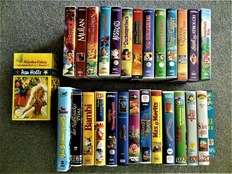 Walt Disney 13 Stck. VHS + 18 weitere VHS Kassetten , überwiegend NEU