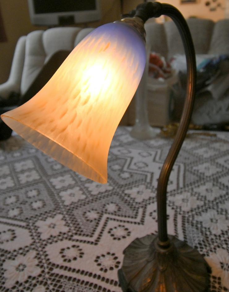 Bild 6: Jugendstiel-Tischlampe