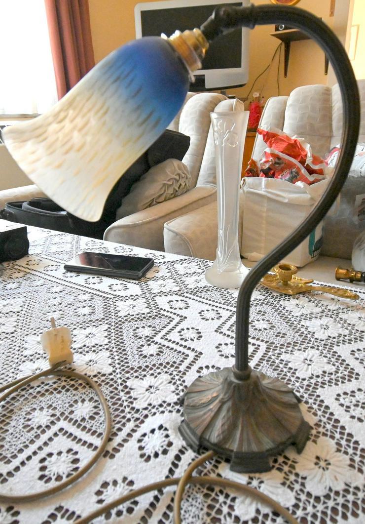 Bild 4: Jugendstiel-Tischlampe