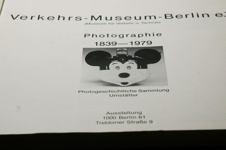 Photographie  Katalog  Museum Berlin 1839-1979