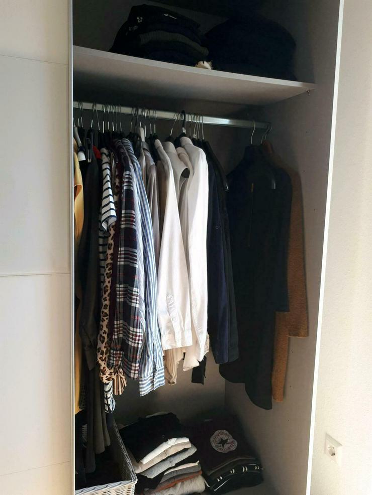 Bild 4: Kleiderschrank weiß