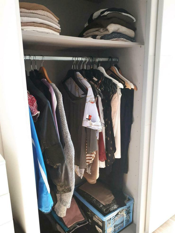 Bild 3: Kleiderschrank weiß