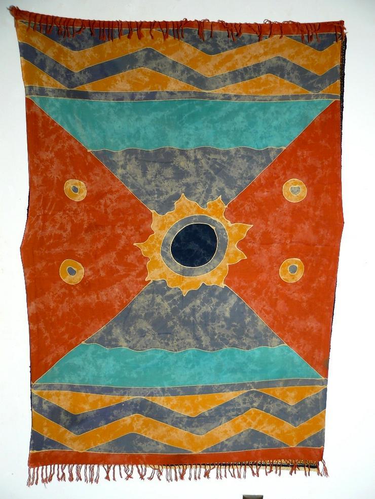 Indonesische Batik Seide 120 J. T096