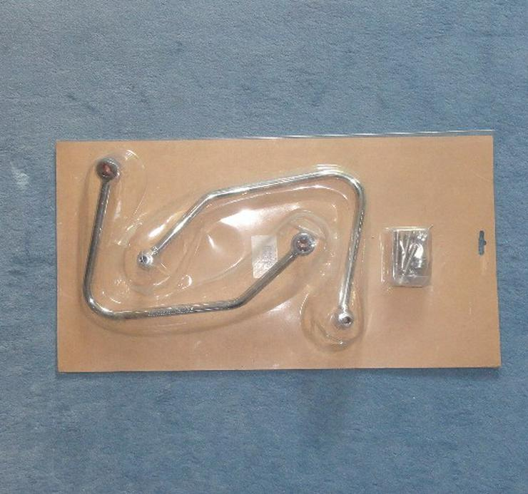 NEU  -  Motorrad Sattel- / Seitentaschenhalter