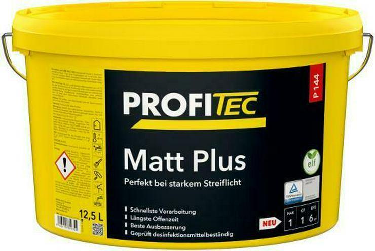 Hochwertige Wandfarbe Profitec P144 Matt Plus weiß 12, 5L Angebot
