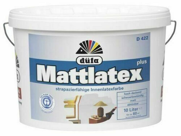 Wandfarbe Mattlatex plus D422 10 Liter Angebot - Farben & Lacke - Bild 1