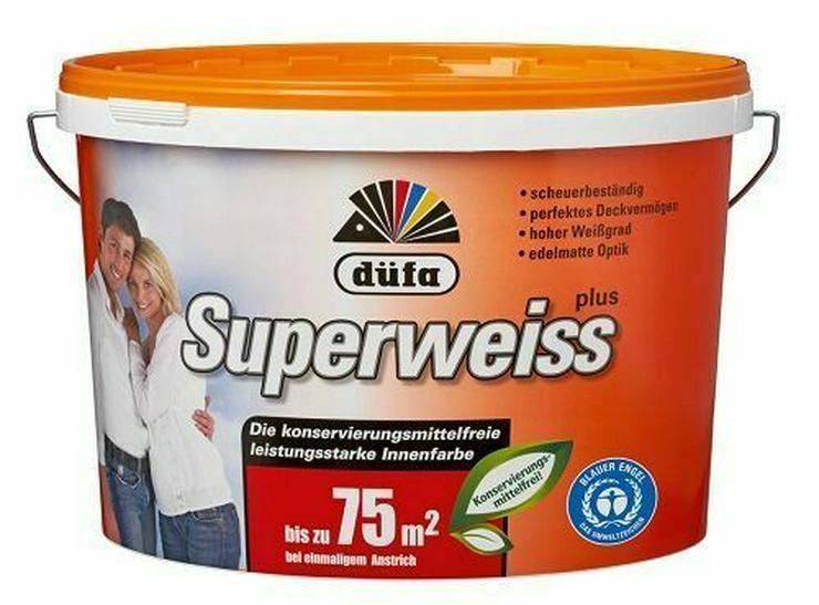Wandfarbe K414 Superweiss KF 10 Liter Angebot - Farben & Lacke - Bild 1