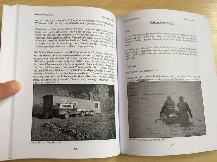 Bild 4: Buch - On Yukon time Teil VII - UNGELESEN