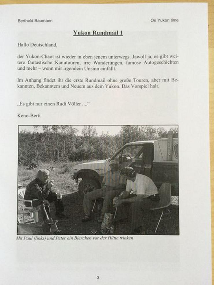 Bild 3: Buch - On Yukon time Teil VII - UNGELESEN