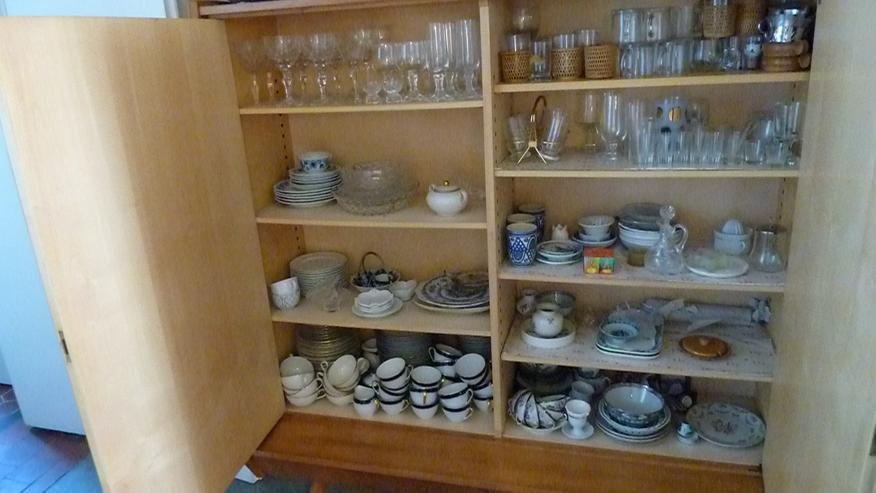 Bild 4: Set: Geschirrschrank und Sideboard, Kirschbaum mit Ahornfronten