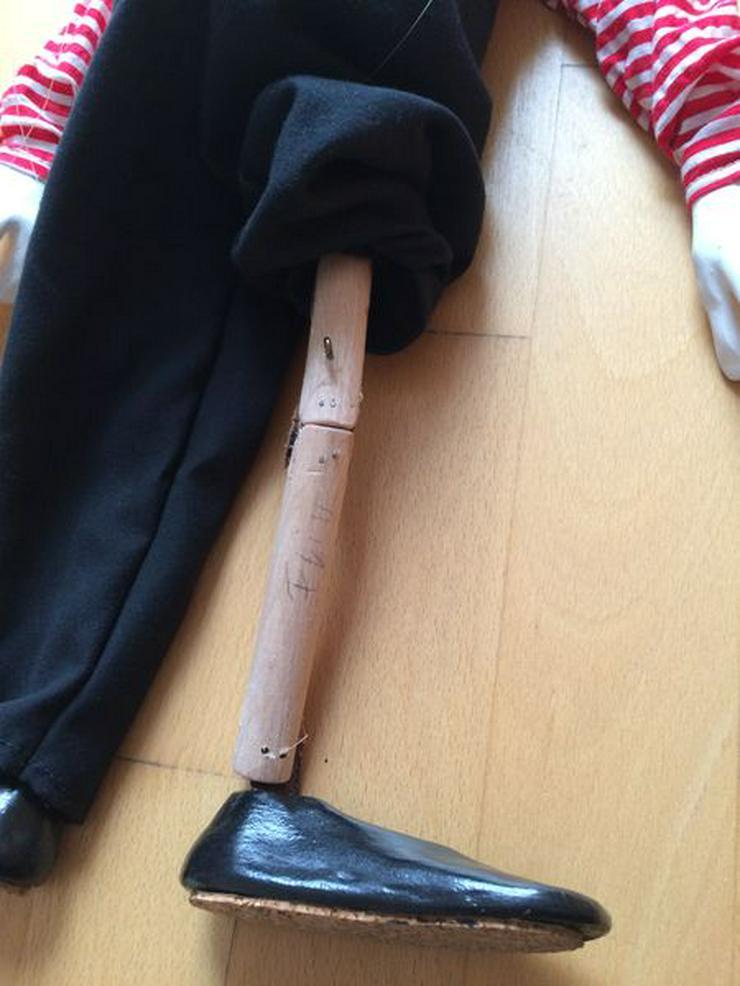 """Bild 7: UNBESPIELT Marionette """"Clown"""", Handarbeit"""