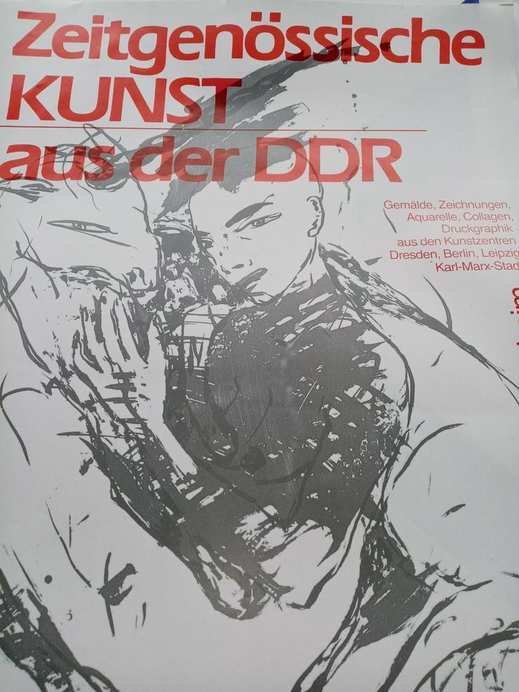 Bild 6: Plakat DDR Zeitgenossen VBK Malerei 1987  Heidenheim