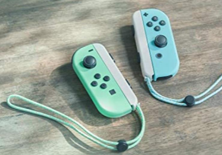 Nintendo Switch Animal Crossing Konsole New Horizons Edition + Download-Code