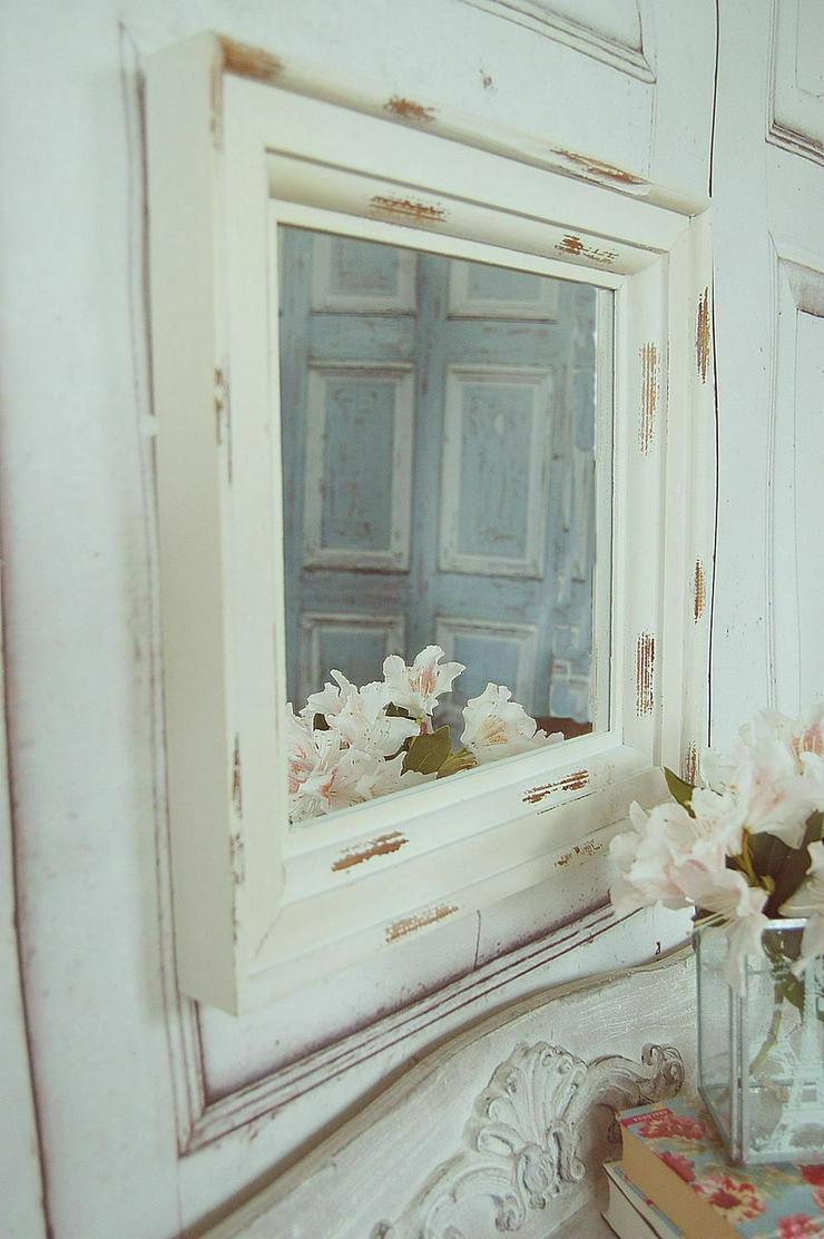 Landhause Spiegel, Wandspiegel LEONIE im antique shabby chic Stil - Sonstige Möbel - Bild 1