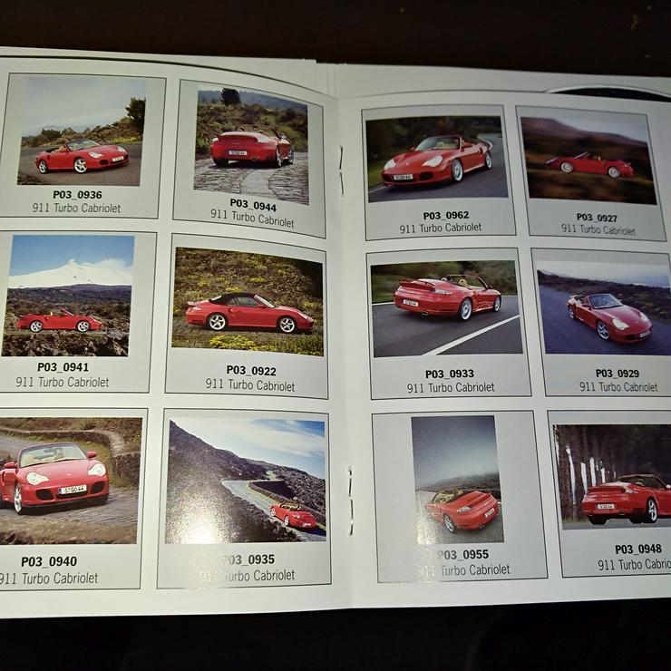 Presse Info Booklet 2004 Porsche 911 Turbo Cabriolet