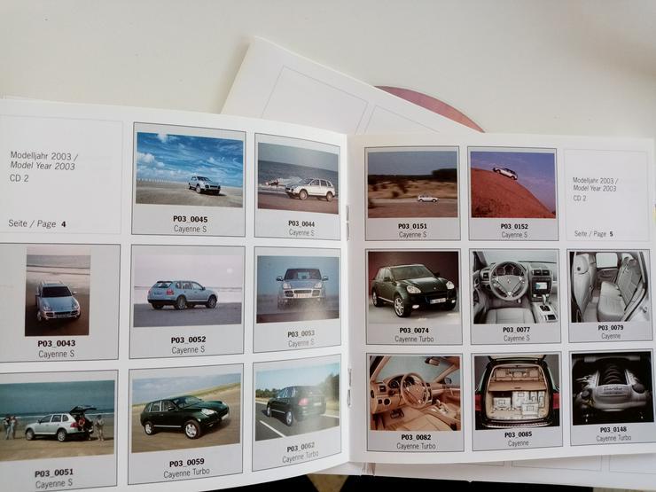 CD Presse Porsche  2003 Einführung Cayenne US Markt
